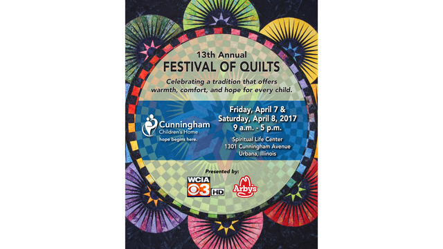 The Festival of Quilts with Cunningham Children's Home