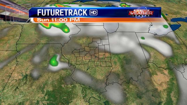 Humid with more showers this afternoon
