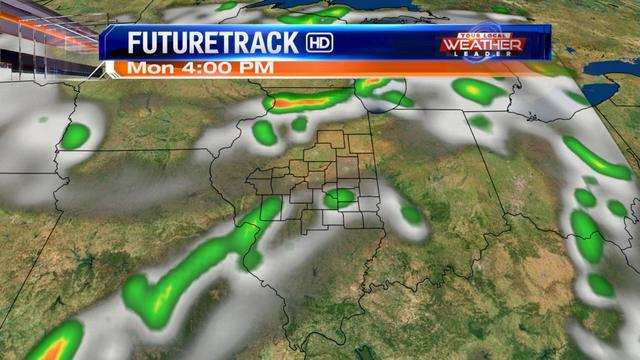 Scattered storms Monday & Independence Day