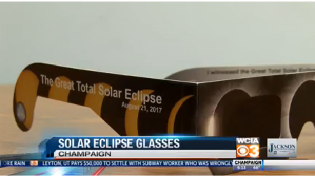 Do you have solar eclipse glasses?