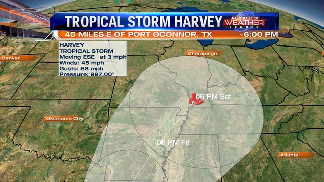 Harvey will likely bring late week rain