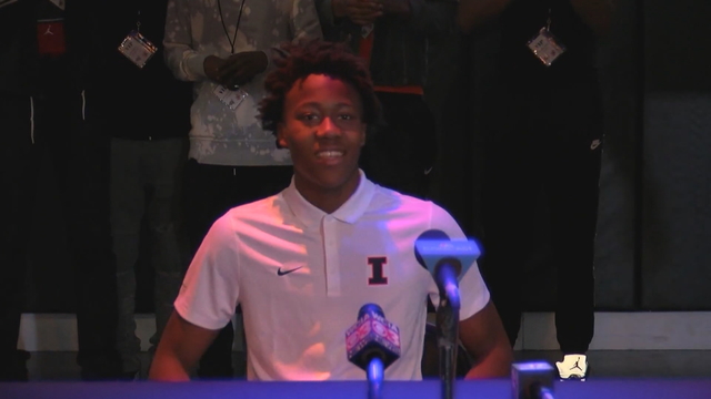 Ayo Dosunmu stays in state, verbally commits to IL
