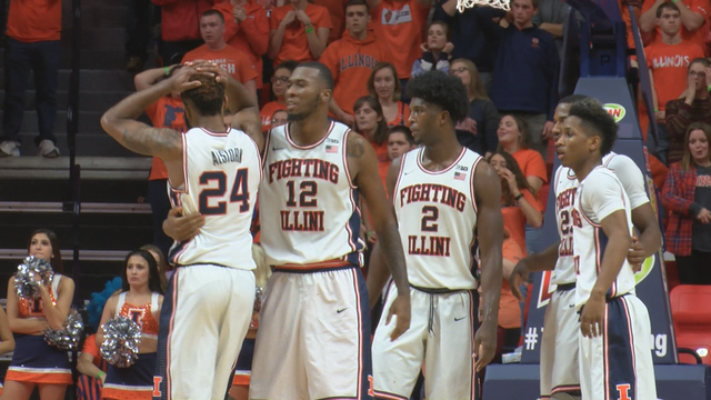 Illini comeback falls short against Maryland