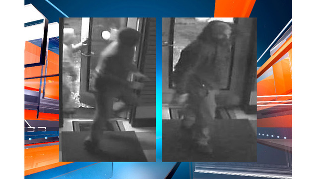 Suspects sought in attempted burglary