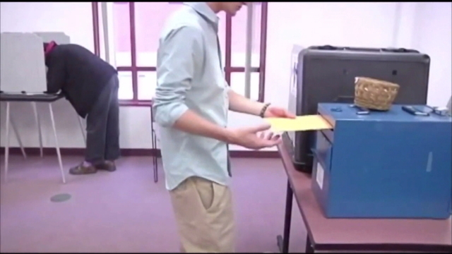 Early voting delayed by ballot dispute